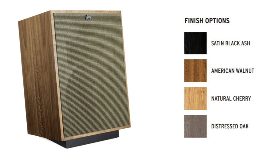 Klipsch Heresy IV Finish options