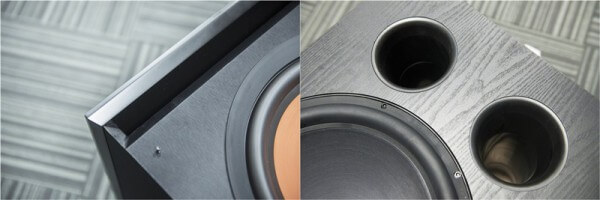 sealed and ported subwoofer