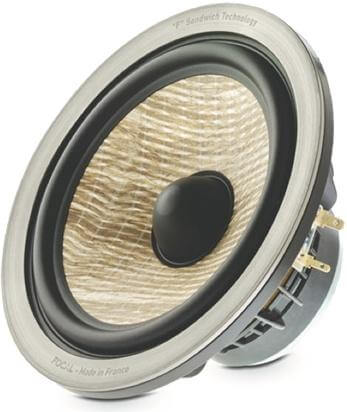 focal flax fiber diaphragm