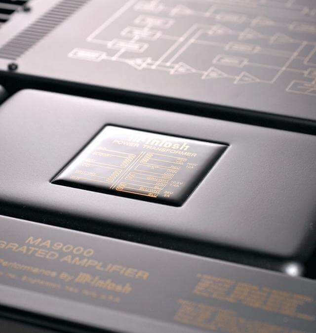 mcintosh ma9000 up panel