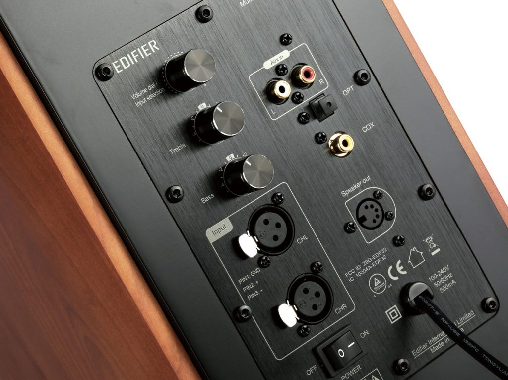 edifier s2000 pro input interfaces