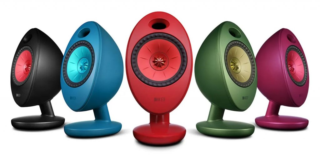 KEF Egg Duo finish 5 colors