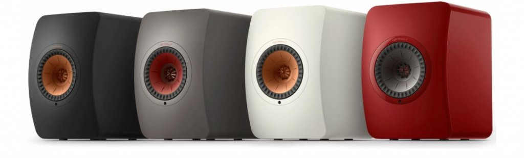 KEF LS50 wireless II finish