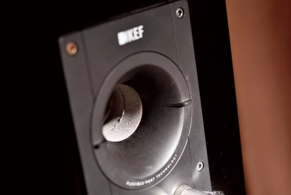 KEF reference 1 bass reflect port