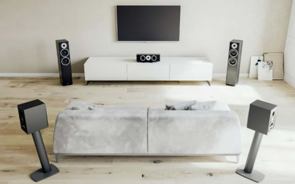 dynaudio emit home theater system