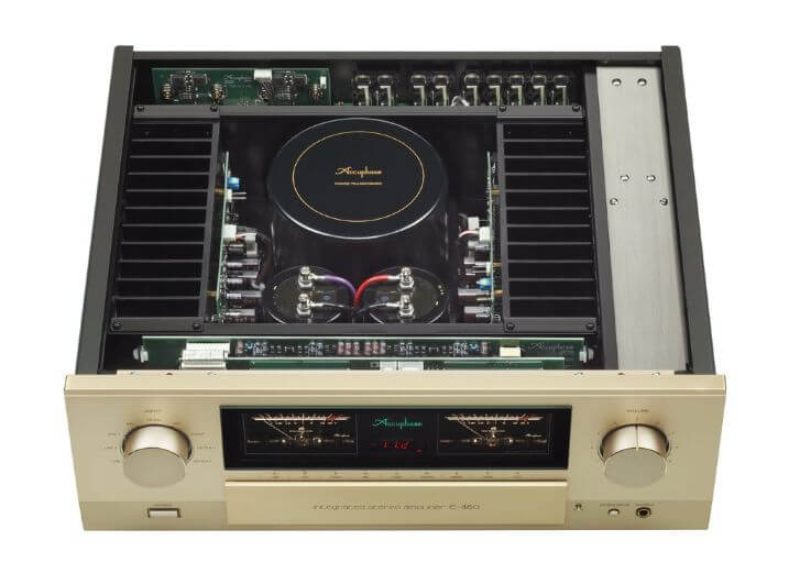 Accuphase E480 amplifier inside