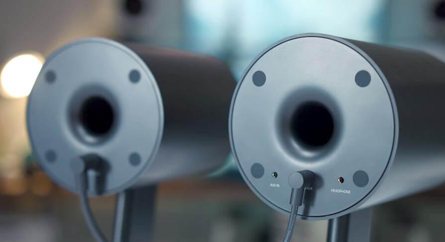 Razer Nommo Chroma speaker the rear