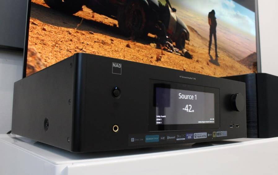 nad t778 avr front panel