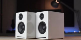 Audioengine A2+ wireless desktop computer speaker 1