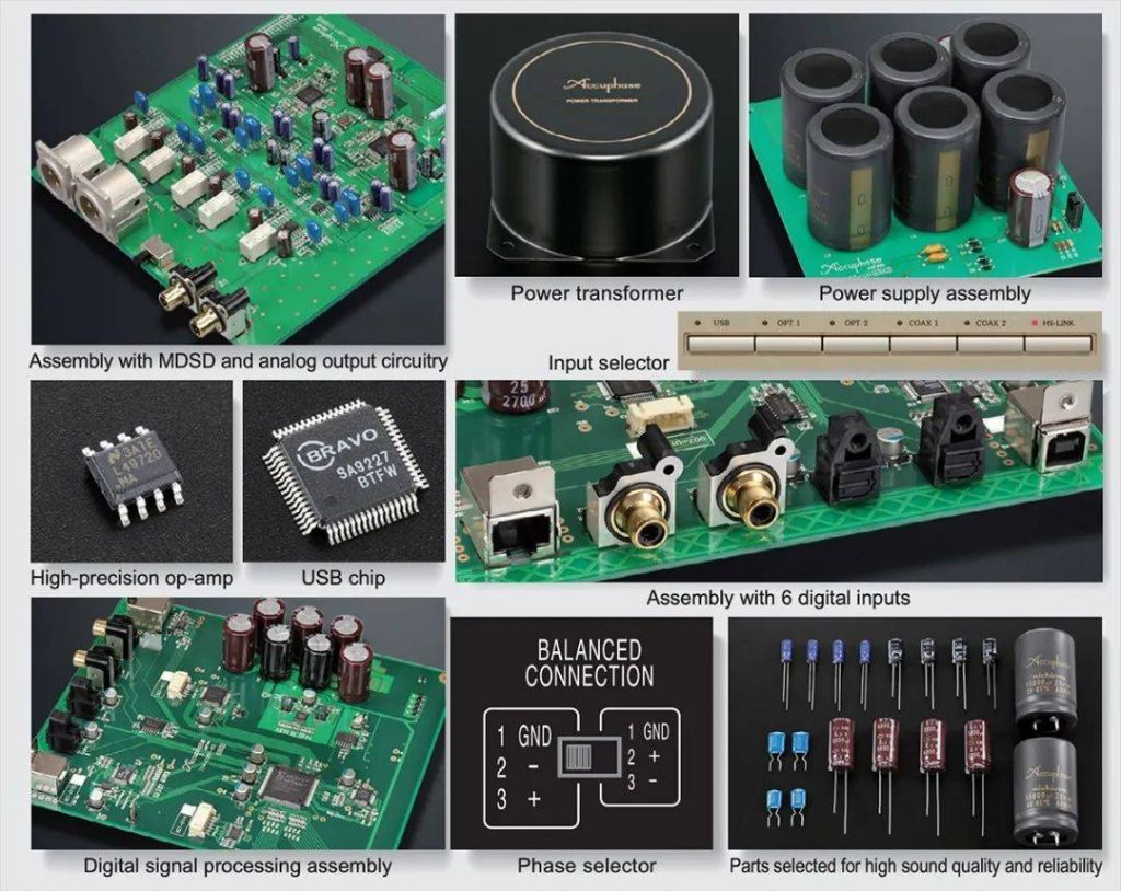 Accuphase DC-37 circuit