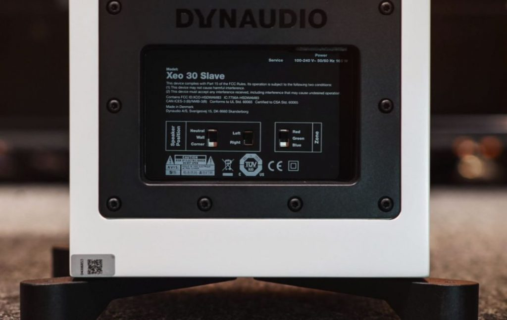 Dynaudio XEO 30 connections