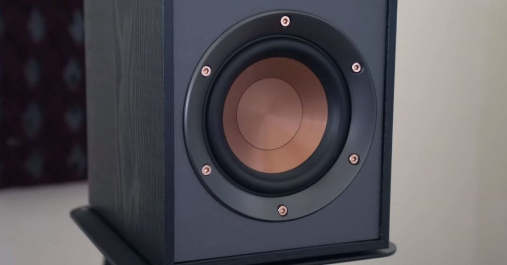 R-41PM Powered Speakers woofer