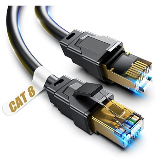 Vabogu High-Speed Ethernet Cable for Gaming