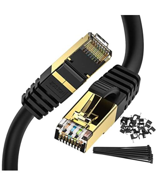 Zosion Cat 8 Ethernet Cable for Gaming